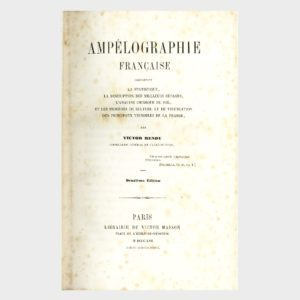 Book Cover: AMPELOGRAFIE FRANCAISE