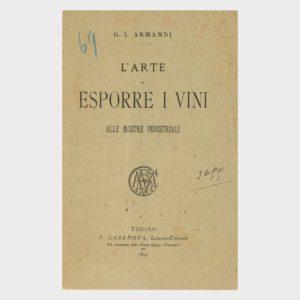 Book Cover: L'ARTE DI ESPORRE I VINI