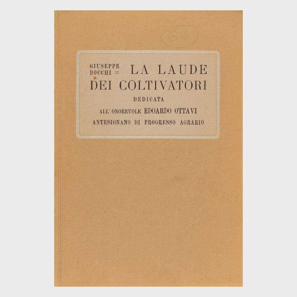 Book Cover: LA LAUDE DEL COLTIVATORE