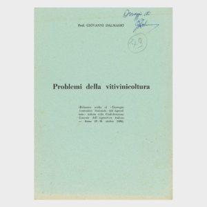 Book Cover: PROBLEMI DELLA VITIVINICOLTURA