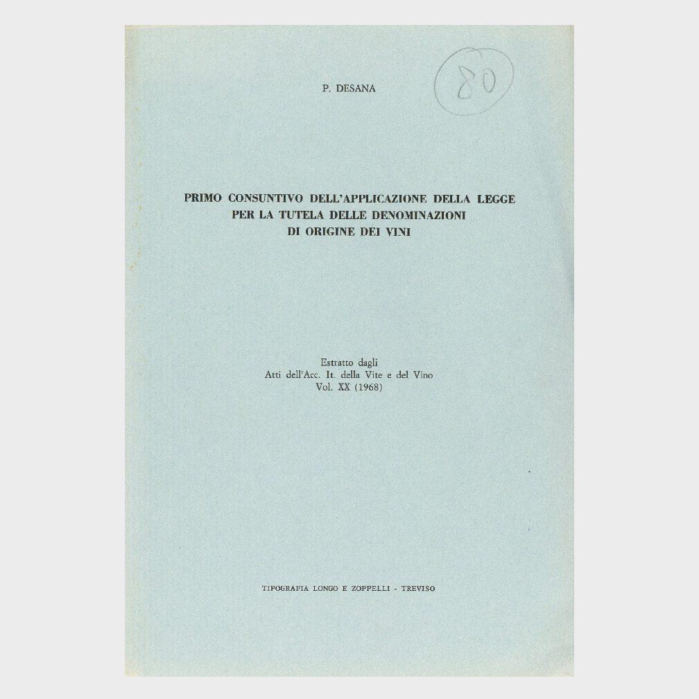 Book Cover: PROBLEMI DELLA VITICOLTURA PIEMONTESE - 2° CONVEGNO NAZIONALE SULLA COLLINA BERGAMO