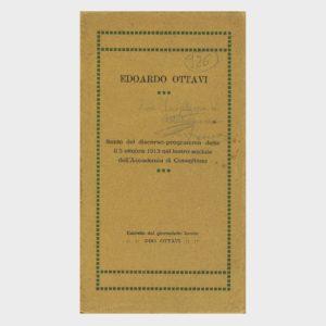 Book Cover: SUNTO DISCORSO – PROGRAMMA ACCADEMIA DI CONEGLIANO