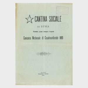 Book Cover: CANTINA SOCIALE DI STRÀ ( VENEZIA )