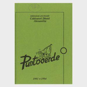 Book Cover: PUNTOVERDE ALESSANDRIA