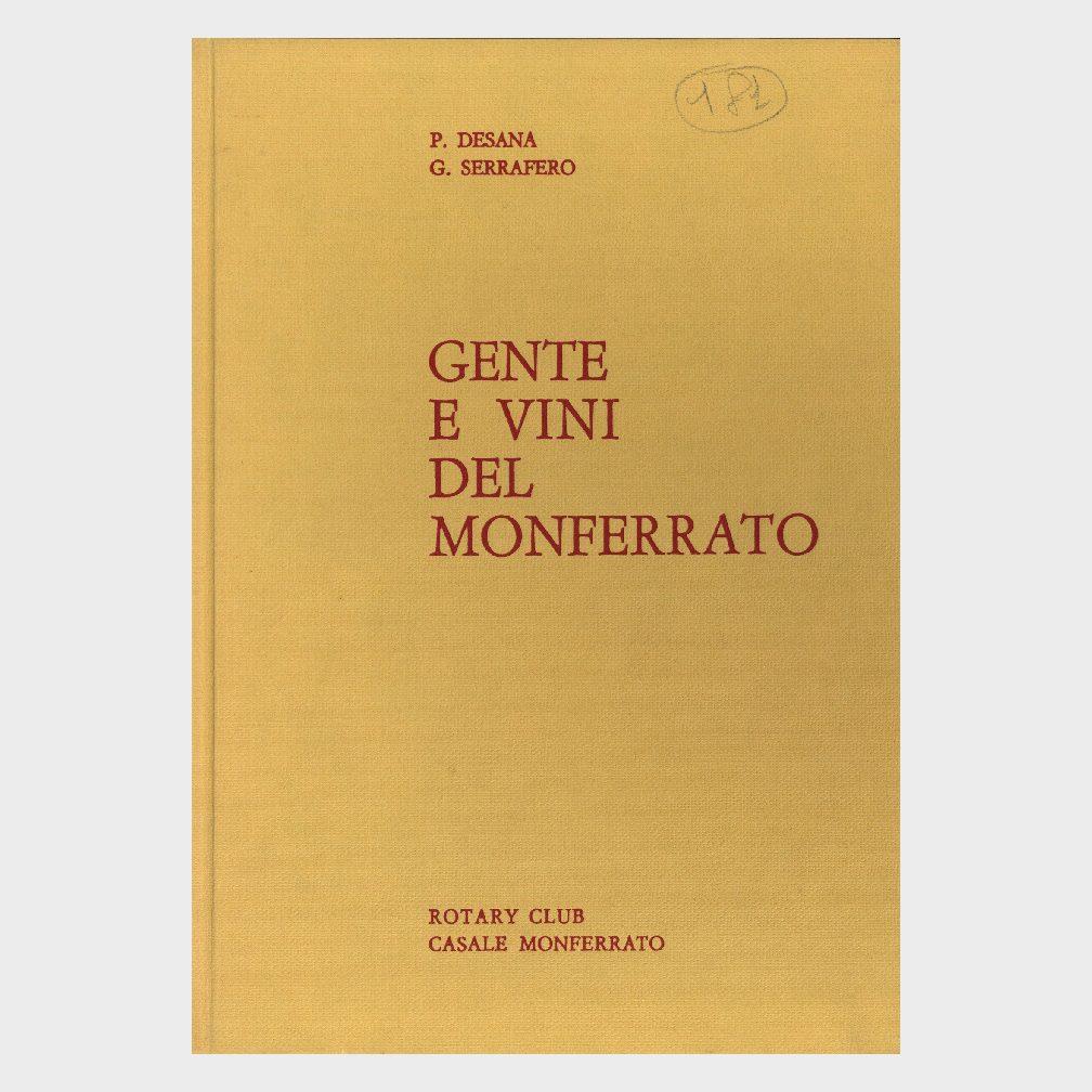 Book Cover: GENTE E VINI DEL MONFERRATO
