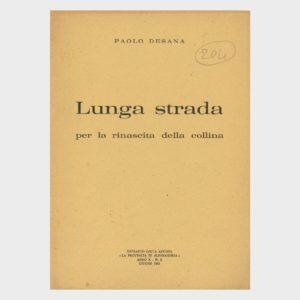 Book Cover: LUNGA STRADA PER LA RINASCITA DELLA COLLINA