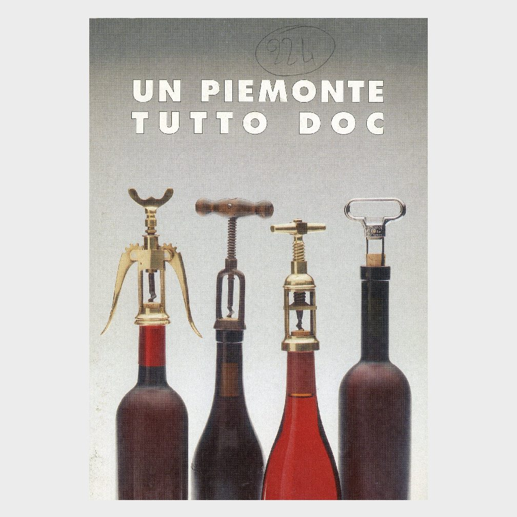 Book Cover: UN  PIEMONTE TUTTO DOC