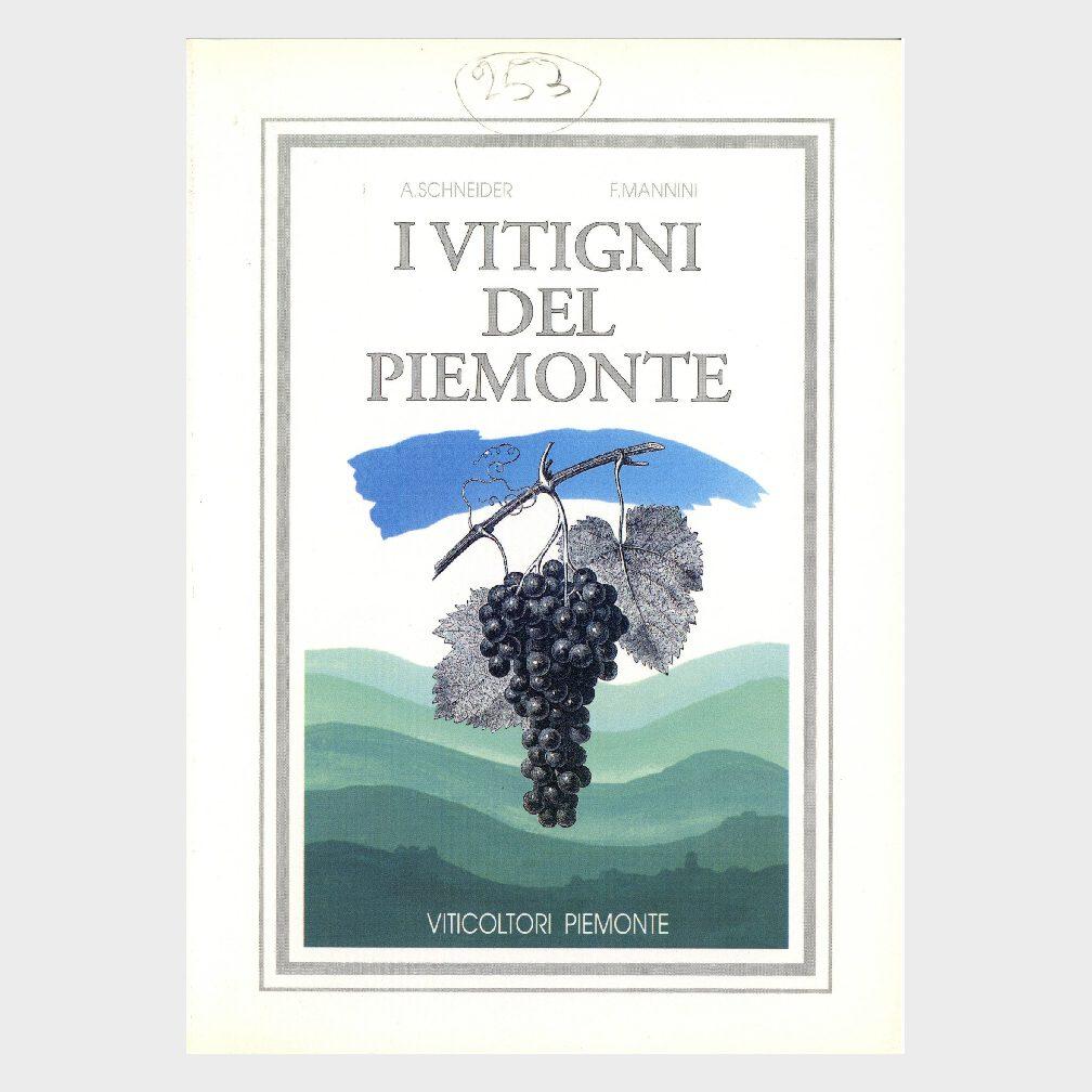 Book Cover: I VITIGNI DEL PIEMONTE
