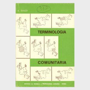 Book Cover: TERMINOLOGIA COMUNITARIA