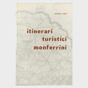 Book Cover: ITINERARI TURISTICI MONFERRINI