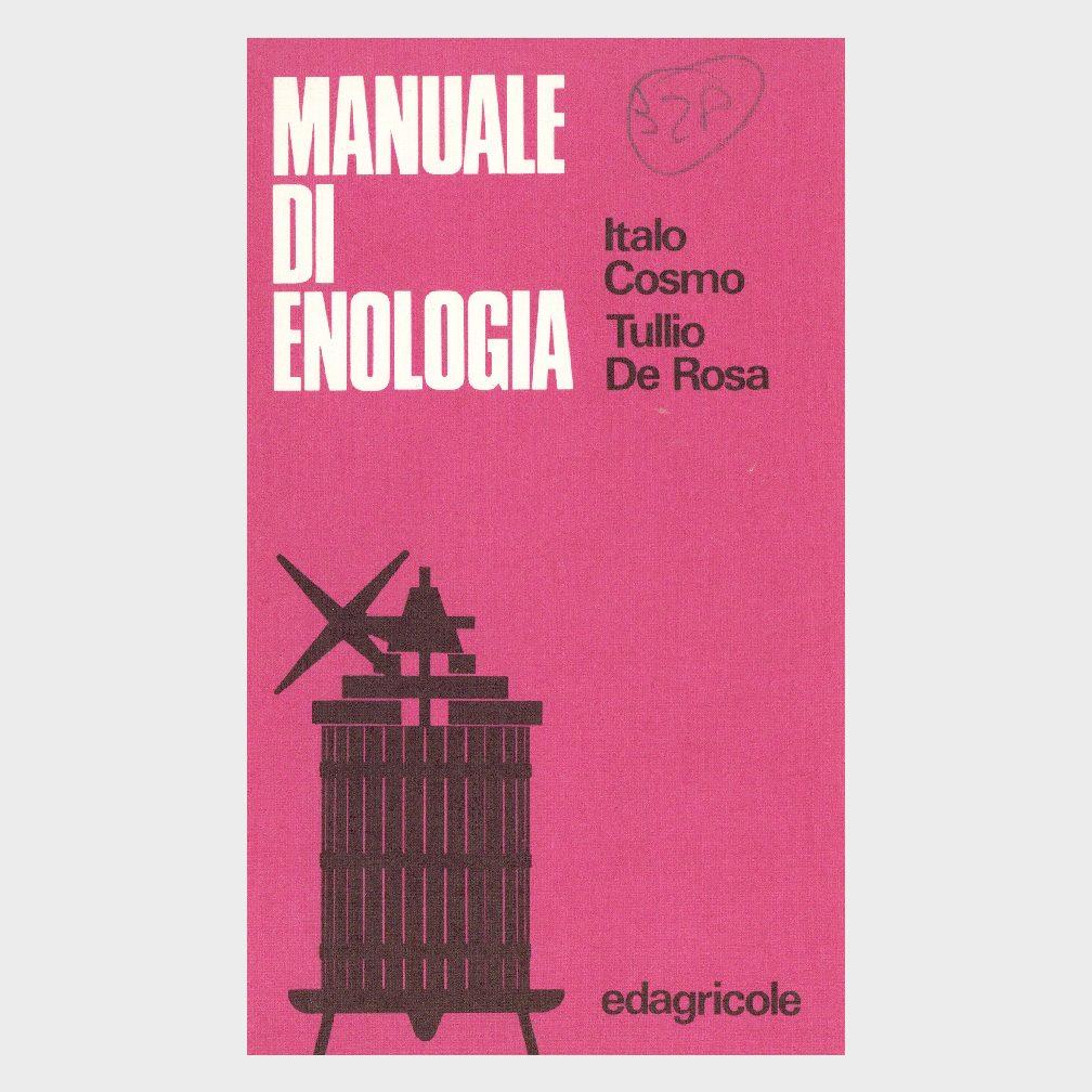 Book Cover: MANUALE DI ENOLOGIA