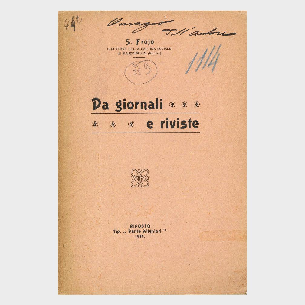 Book Cover: DA GIORNALI E RIVISTE