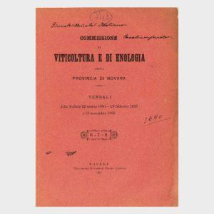 Book Cover: LA RICOSTITUZIONE DEI VIGNETI FILLOSSERATI