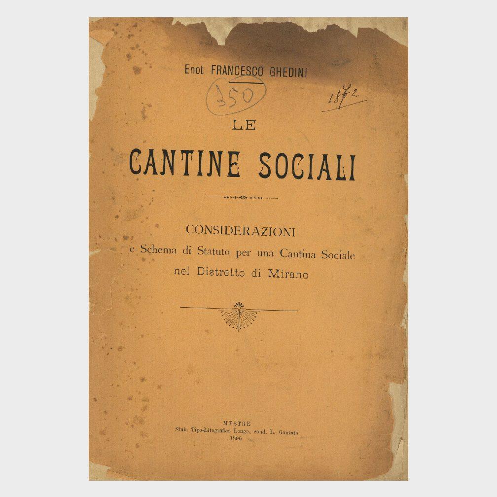 Book Cover: LE CANTINE SOCIALI