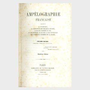 Book Cover: AMPELOGRAFIE FRANCAISE