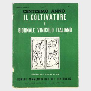 Book Cover: IL COLTIVATORE E GIORNALE VINICOLO ITALIANO  -  CENTESIMO