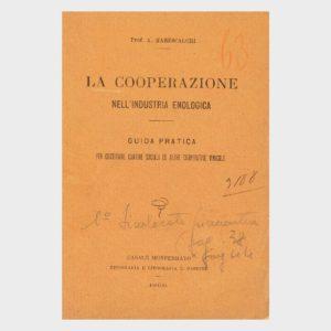 Book Cover: LA COOPERAZIONE NELLA INDUSTRIA ENOLOGICA – GUIDA PRATICA