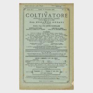 Book Cover: IL COLTIVATORE GIORNALE