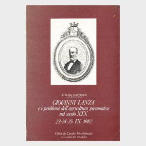 Book Cover: GIOVANNI LANZA E I PROBLEMI DELL'AGRICOLTURA PIEMONTESE DEL SECOLO XIX°