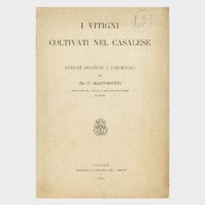 Book Cover: I VITIGNI COLTIVATI NEL CASALESE