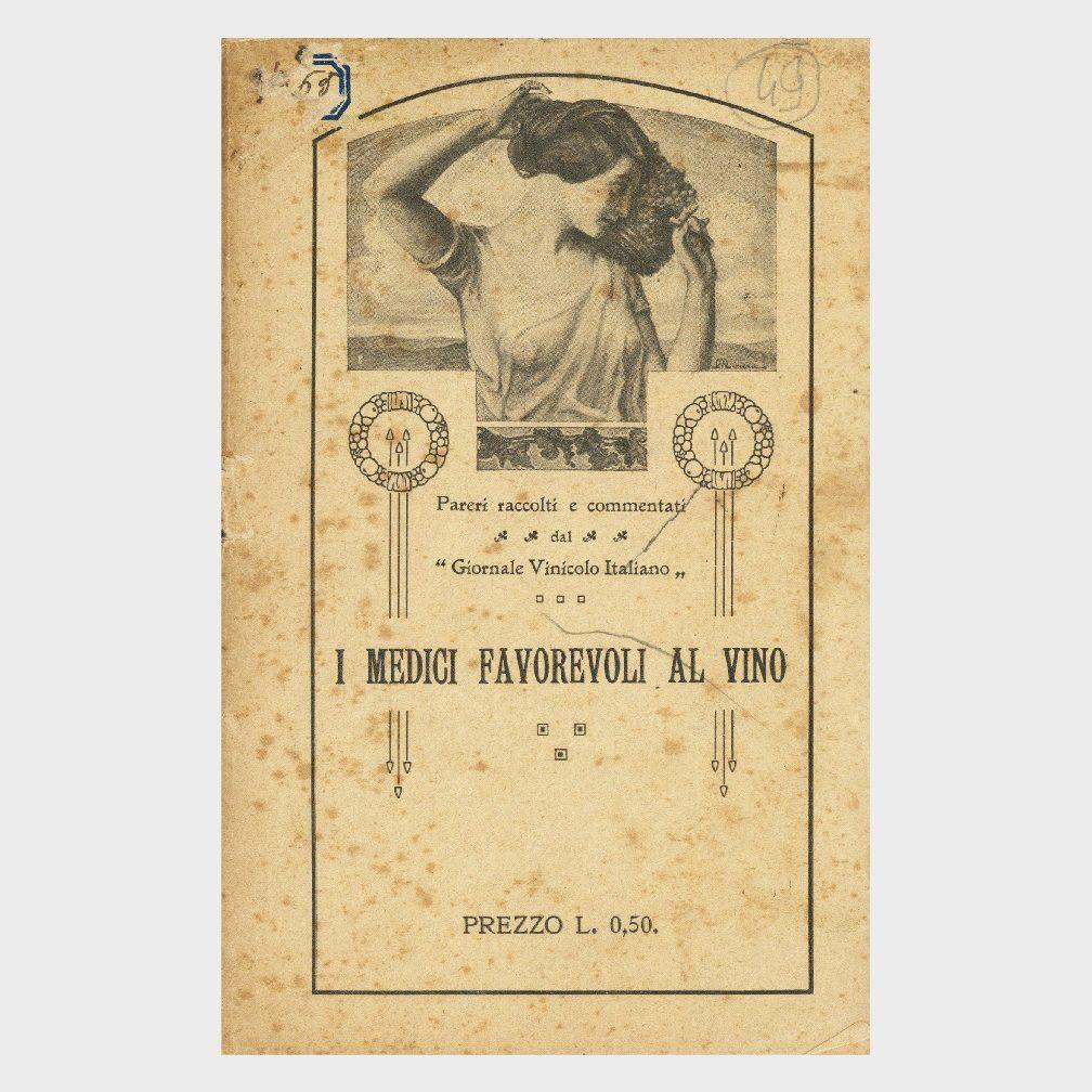 Book Cover: I MEDICI FAVOREVOLI AL VINO