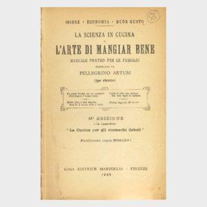 Book Cover: L'ARTE DI MANGIAR BENE