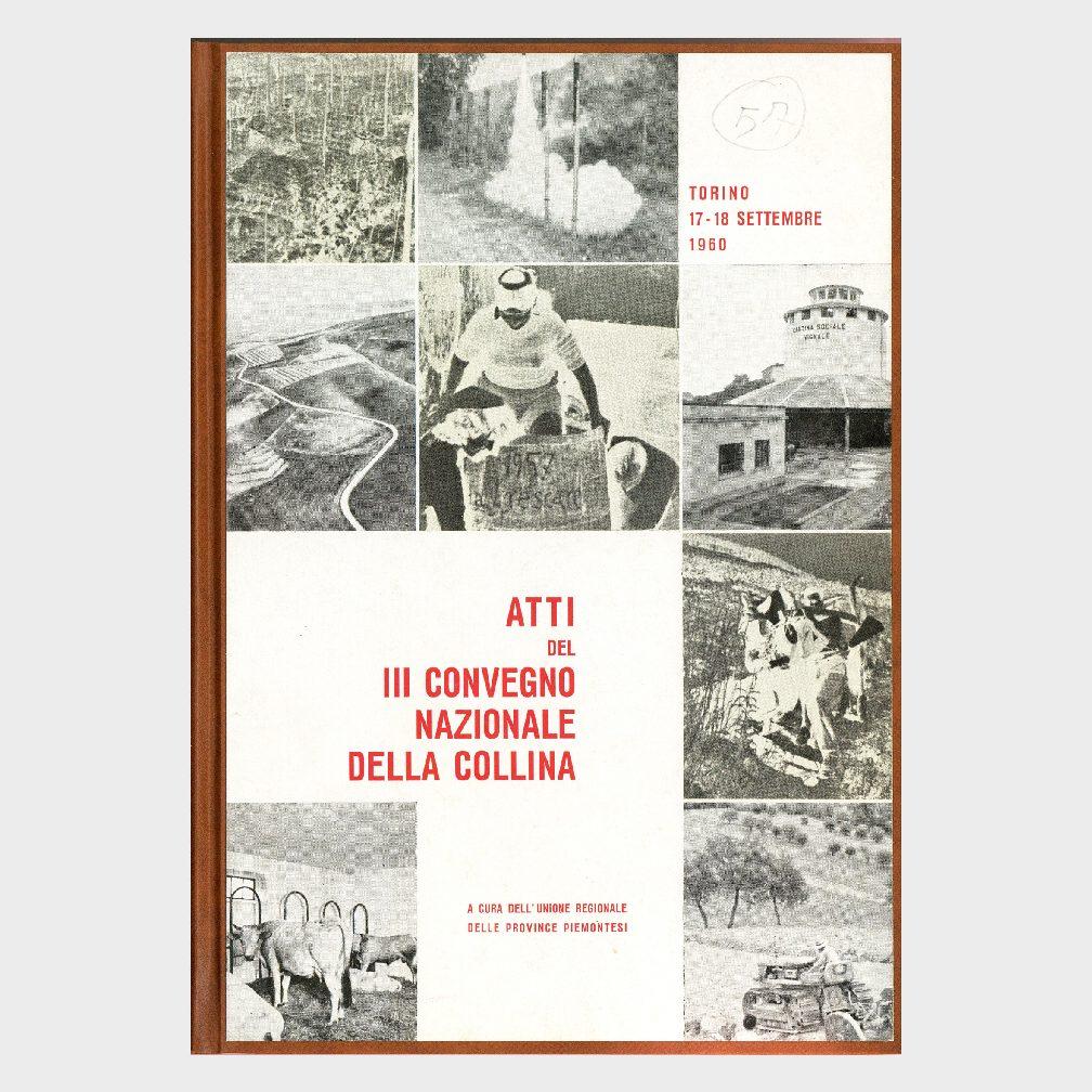 Book Cover: ATTI III° CONVEGNO NAZIONALE DELLA COLLINA