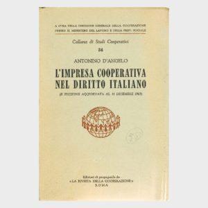 Book Cover: L'IMPRESA COOPERATIVA NEL DIRITTO ITALIANO