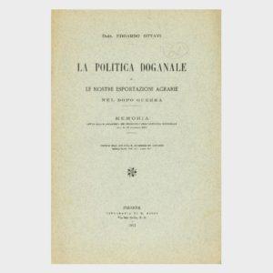 Book Cover: LA POLITICA DOGANALE E LE NOSTRE ESPORTAZIONI AGRARIE