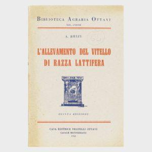 Book Cover: L'ALLEVAMENTO DEL VITELLO DA RAZZA LATTIERA