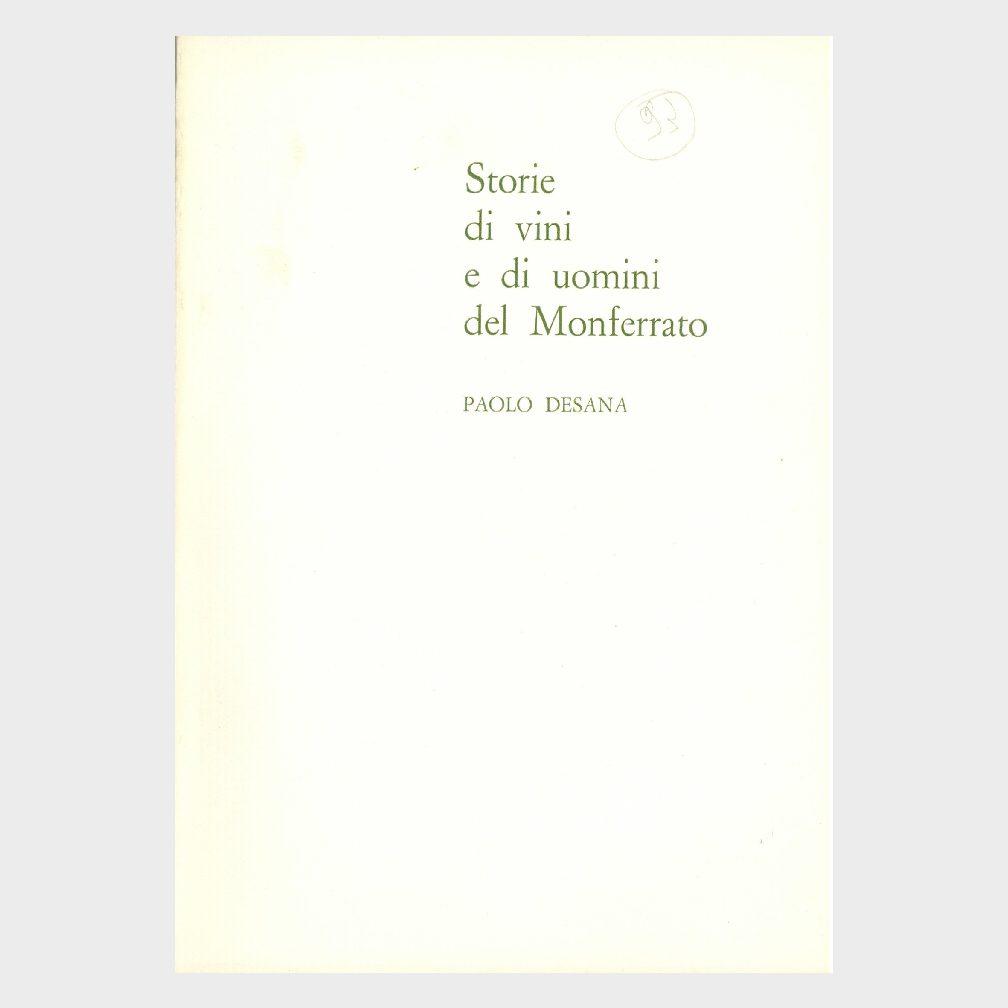 Book Cover: STORIE DI VINI E UOMINI DEL MONFERRATO