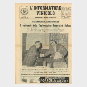 Book Cover: IL VENTENNALE DELLA CONFEDERAZIONE COOPERATIVA ITALIANA