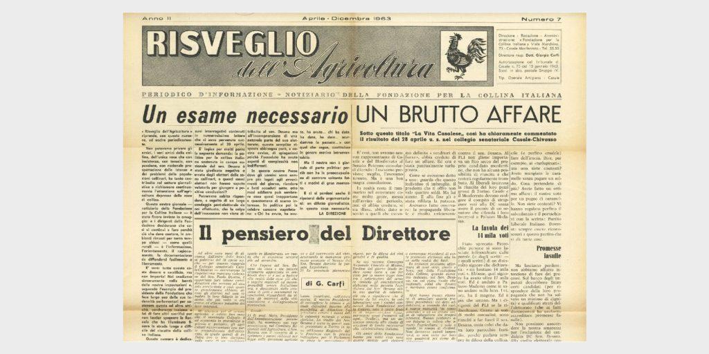 Book Cover: IL RISVEGLIO DELL'AGRICOLTURA
