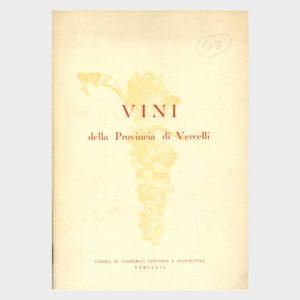 Book Cover: VINI DELLA PROVINCIA DI VERCELLI