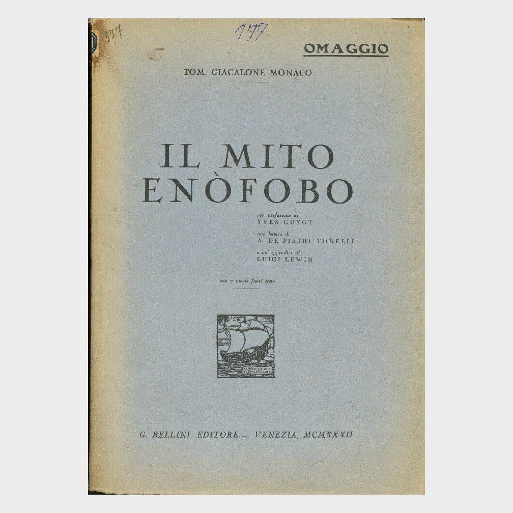 Book Cover: IL MITO OMOFOBO