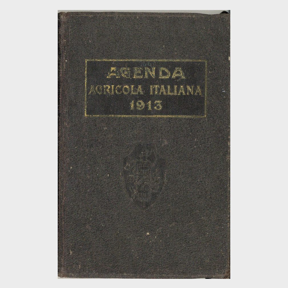 Book Cover: AGENDA AGRICOLA ITALIANA – MEMORANDUM DELLE ASSOCIAZIONI AGRARIE