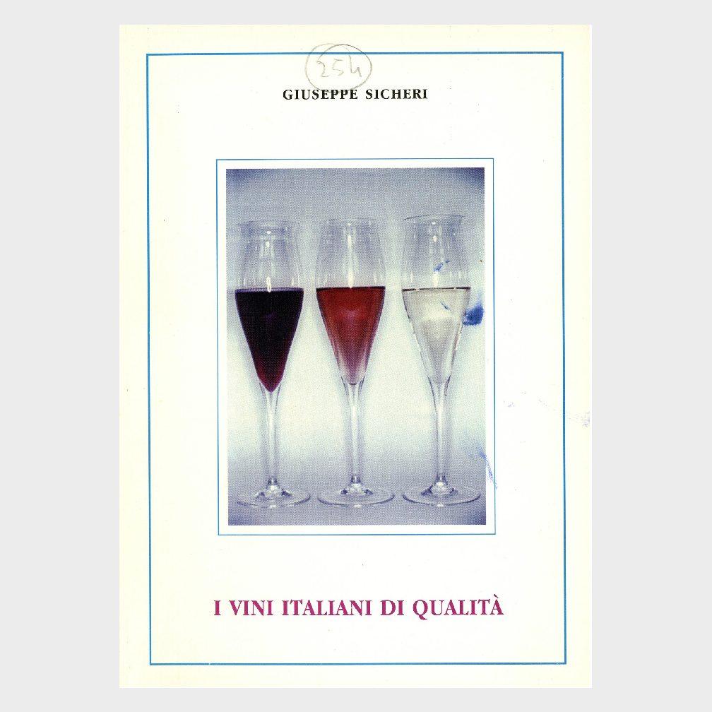Book Cover: I VINI DI QUALITÀ ITALIANI