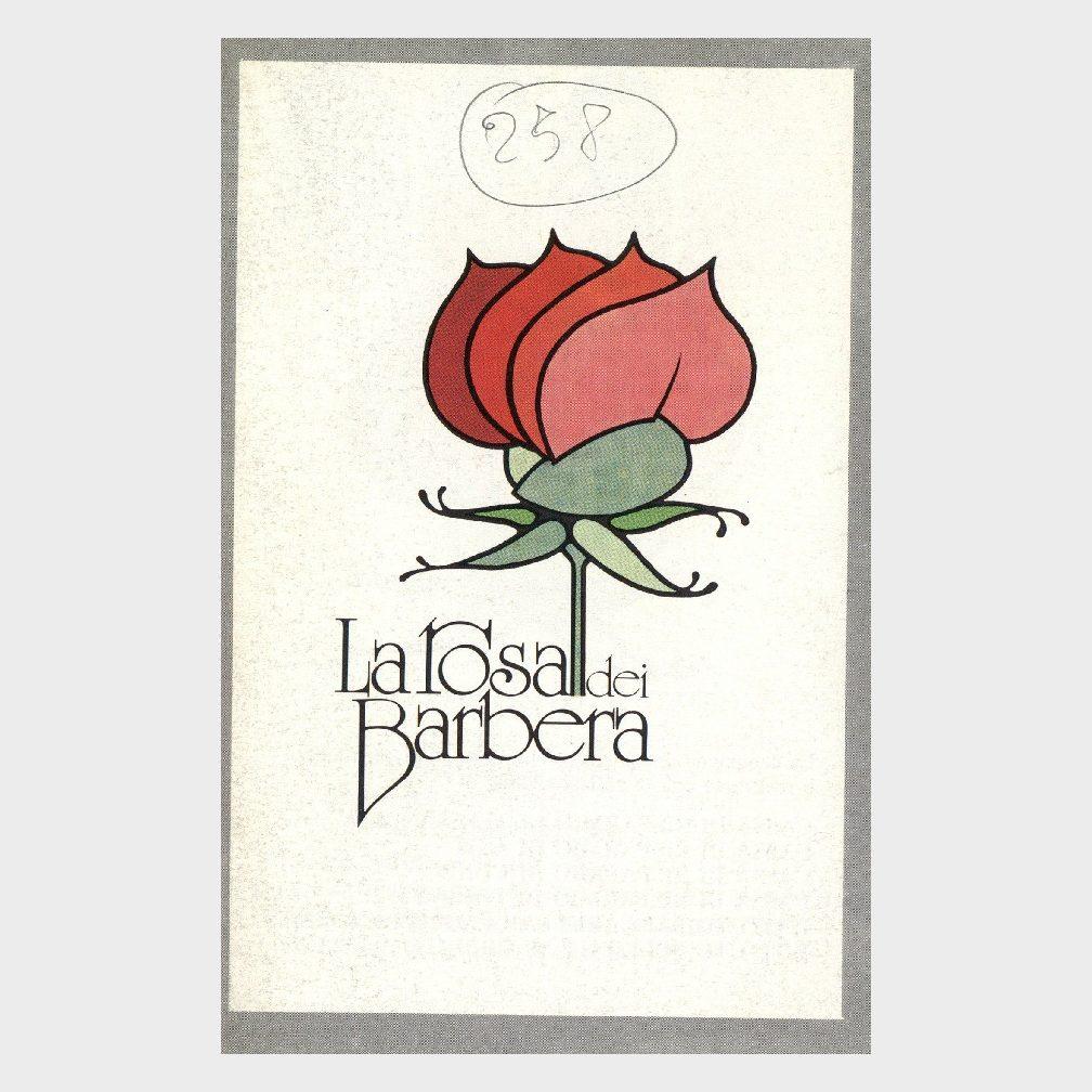 Book Cover: LA ROSA DEI BARBERA