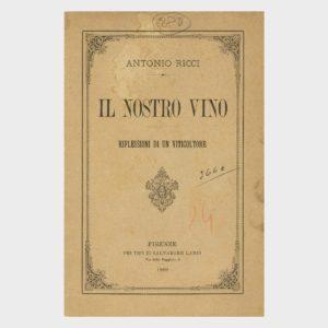 Book Cover: IL NOSTRO VINO ( RIFLESSIONI DI UN VITICOLTORE )