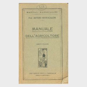 Book Cover: MANUALE DELL'AGRICOLTORE