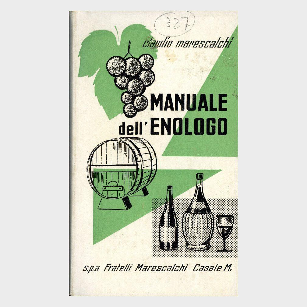 Book Cover: MANUALE DELL'ENOLOGO