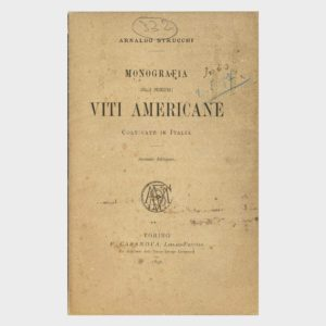 Book Cover: MONOGRAFIA DELLE PRINCIPALI VITI AMERICANE COLTIVATE IN ITALIA