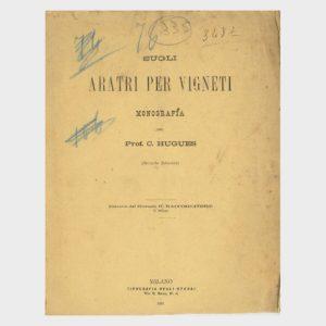 Book Cover: SUGLI ARATRI PER VIGNETI ( 2° EDIZIONE )