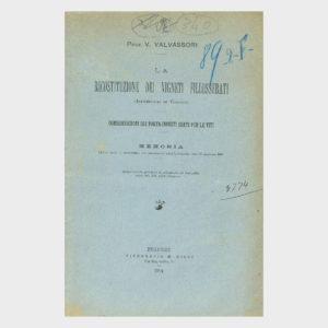 Book Cover: COMMISSIONE DI VITICOLTURA ED ENOLOGIA DELLA PROVINCIA DI NOVARA ( CRISI  VINICOLA E TRATTATO DI COMMERCIO COLLA FRANCIA )