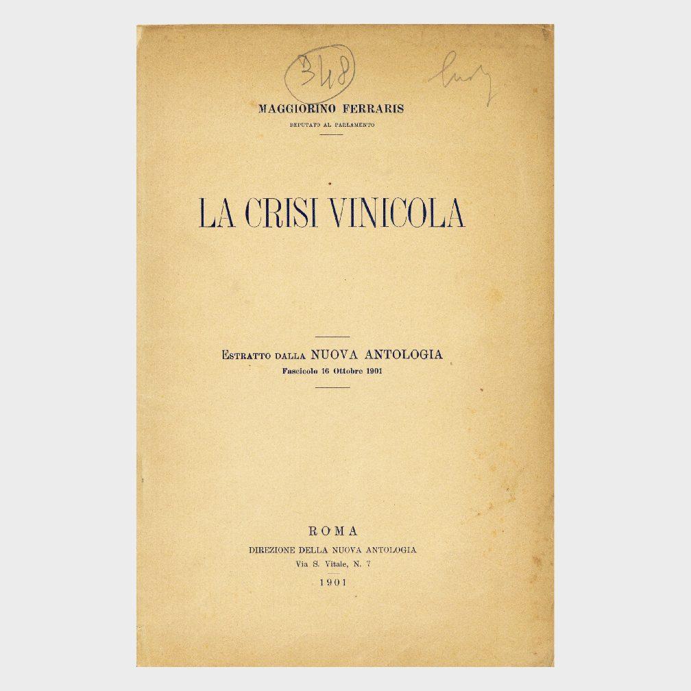 Book Cover: LA CRISI VINICOLA
