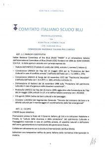 Book Cover: STATUTO DELLO SCUDO BLU (2014)